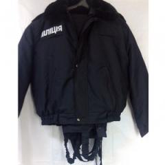 Suit winter militia