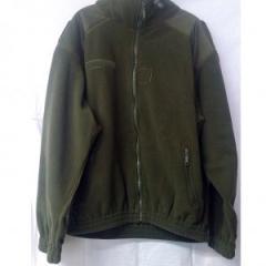 The jacket is flizovy