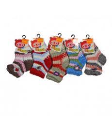 Носки детские вязанные ZGZ-6Артикул: ZGZ-6