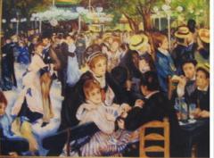 Копия картины Бал в Мулен де ла Галетт