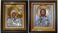 Icon Kazan Blessed Virgin Mary (wedding couple)