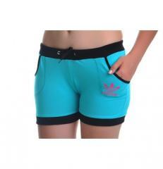 Шорты спортивные Adidas 1B-079-BLUE-BLACK-ROSE
