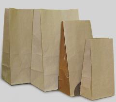 Бумажный пакет на вынос 280х170х120