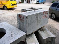 Блоки железобетонные для стен и подвалов ГОСТ