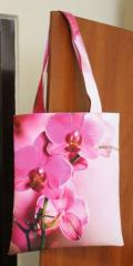 Textile women bag, bag summer