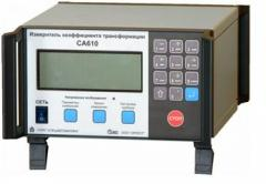 Measuring instrument of coefficient of