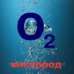 Кислород технический газообразный (содержание O2,