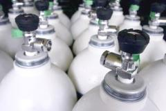 Testing gas mixtures