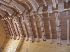 Wooden lacunar ceilings, Wooden lacunar ceilings
