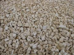 Marble crumb in Vinnytsia, in Ukraine