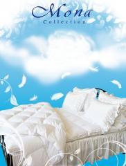 Полупуховая подушка 40x60, 50% пух