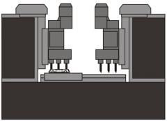 Станок АХТ-02 - производится обработка отверстия диаметром 54+0,74мм и 8 отверстий диаметром 26+0,52мм.