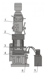 Комплект многошпиндельной обработки деталей вагонного производства