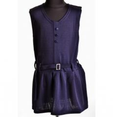 Комбез жилетка юбка детскаяMD-1211