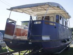 Catamaran metal Diabase Bot
