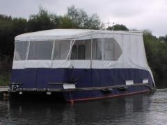 Steel catamaran