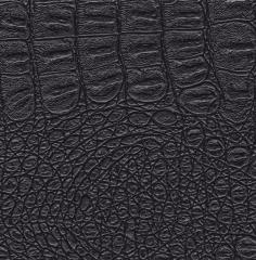 Imitation leather of 218 Black India