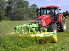 The mower disk frontal and hinged Samasz KDF in