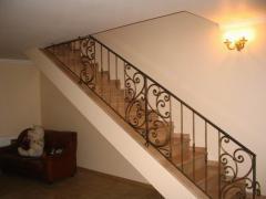 Кованые лестницы ЛП01