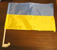 Флаги с автофлагштоками, флажок для автомобиля
