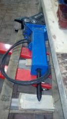 Hydrohammer for pass the excavator