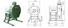 High-performance crusher of RVO 1045 grain