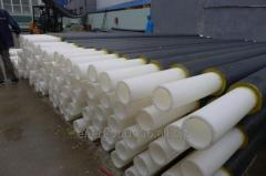 Pipes from heat-resistant PE-RT polyethylene