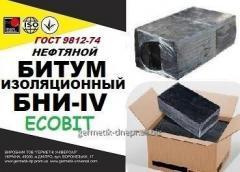 Битум БНИ-IV нефтяной изоляционный ГОСТ 9812-74