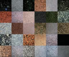 Modular granite plates