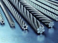 Cables from stainless steel