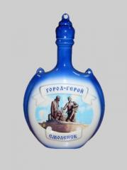 """The bottle souvenir """"Taste of Travel"""