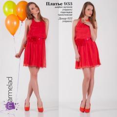 Платье 933