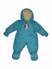 Детский комбинезон. Комбинезон-трансформер (Зима)