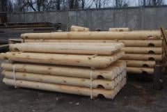 Bar planed dry (rounded)