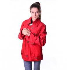 Куртка женская краснаяFEYA-2150