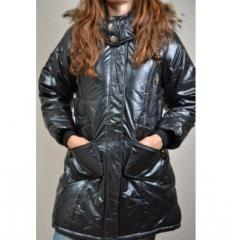Куртка женскя 8801 BLACK