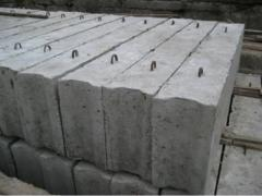Блоки фундамента ФБС в Одессе