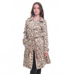 Плащ леопардовый Guppivisa75064