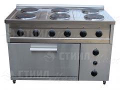 Electric stove 6 konforochny