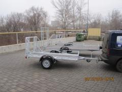 The trailer automobile monoaxial Verda the 2nd