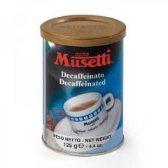 Кава Musetti без кофеїну