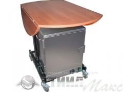 Table for a catering with thermoboxing