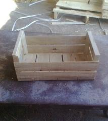 Boxes for fowl, fishes, vegetables, frui