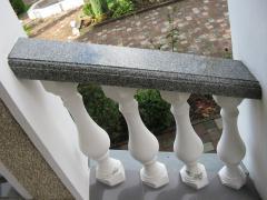 Hand-rail granite for ladders