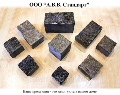 Stone blocks fully – sawn (t top / about) 10х10х5