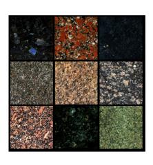 Tile granite.