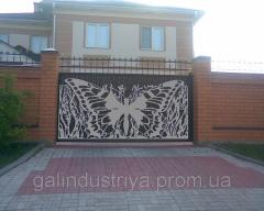 "Decoration for gates ""butterfly"""