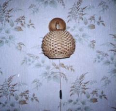 Бра плетеное Ёжик