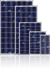 Солнечный батарея, поликристаллическая, от 10 до