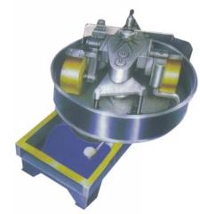 The concrete mixer with mix TITAN A-1200